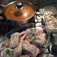 Töltött csirkecomb | Eva Firnigel receptje - Cookpad receptek Pork, Meat, Potato Salad, Potatoes, Ethnic Recipes, Kale Stir Fry, Potato, Pork Chops