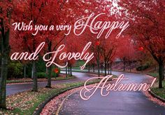 Tweeps spread the #autumn cheer all around with this #ecard. #HappyAutumn #Magicoffall #Fall