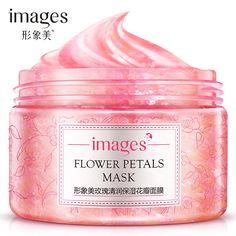 Rose Petal Osmanthus Fragrans Petal Moisturizing Oil-Control Exfoliating Female Sleeping Mask Moisturizing Mask mud skin Care #Affiliate