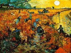 The Red Vineyard at Arles, c.1888 Pôsters por Vincent van Gogh na AllPosters.com.br