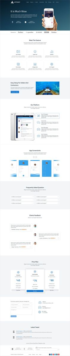 Apphoot is a modern and clean #design 2in1 responsive #HTML5 bootstrap template for #app landing page website download now➩ https://themeforest.net/item/apphoot-responsive-app-landing-page-template/19447495?ref=Datasata