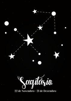 Quadro Zodíaco - Sagitário - Coisas de Parede Sagittarius Constellation Tattoo, Sagittarius Facts, Zodiac Art, Zodiac Signs, Ascendant Sign, Moon Signs, Tattos, Archer, Marvel Tattoos