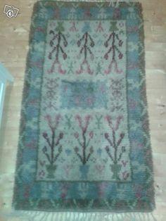 Kaunis Ryijy Rya Rug, Bohemian Rug, Tapestry, Rugs, Home Decor, Weaving Looms, Eggs, Hanging Tapestry, Farmhouse Rugs
