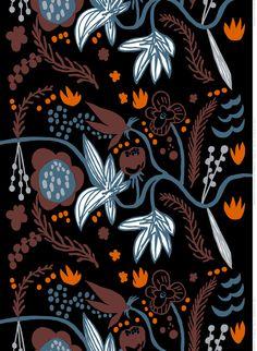 Kuunlilja, Design: Jenni Tuominen for Marimekko