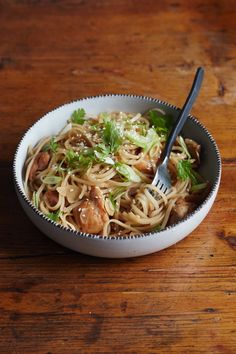 In the warmer months, I like to swap grain bowls for rice noodle bowls that I can enjoy cold or at room temperature. With the right mix of toppings and flavors, rice noodle bowls are satisfying without being too heavy. This recipe brings the flavors of sesame chicken to the noodle bowl, with a sweet and savory mix of tamari, sesame oil, brown sugar, and a splash of rice wine vinegar.
