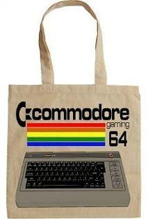 Commodore 64 Retro 80s Computer Tote Bag
