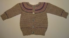 Ravelry: Project Gallery for Fairly Isleish Fair Isle Style Cardigan Sweater for Boys and Girls pattern by Sarah Lora
