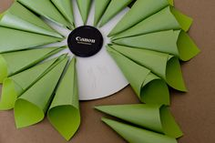 paper wreath tutorial