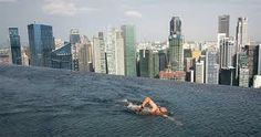 piscina hotel marina bay sands singapore -