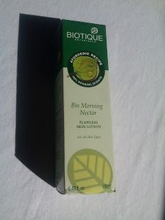 Tz's Blogs: Biotique Bio Morning Nectar Flawless Skin Lotion| ...