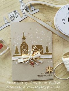 Christmas Cards 2017, Christmas Hearts, Christmas Paper Crafts, Noel Christmas, Xmas Cards, Handmade Christmas, Holiday Cards, Stampin Up Christmas 2018, Stampin Up Weihnachten