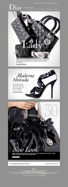 Editorial fashion graphic design. Newsletter inspirational. Site Web Design, Fashion Website Design, Mobile Web Design, Website Design Layout, Fashion Design, Fashion Graphic, Email Marketing Design, E-mail Marketing, Fashion Marketing