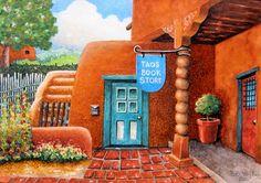 Taos Book Store II ~ Robert Yackel