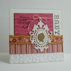 Because it's fun to create...: Baby kaarten...