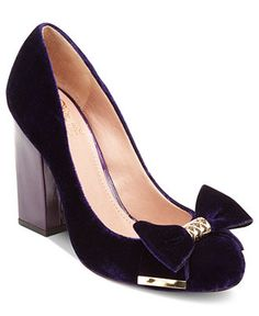 Vince Camuto Shoes, Verona Velvet Pumps - Shoes - Macy's