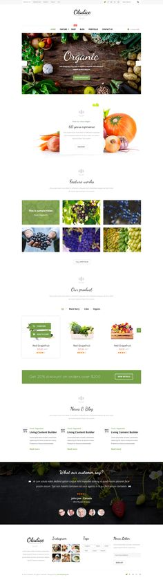 Oladice - Organic Farm PSD Template • Download ➝ https://themeforest.net/item/oladice-organic-farm-psd-template/15873027?ref=pxcr