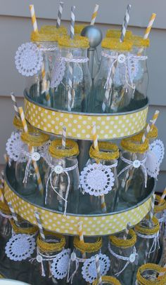Delightfully Detailed: Cute as a Button Baby Shower