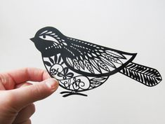 Paper Cut Art Tutorials : Art, Design