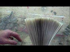 Inspirerend! Dit ga ik ook proberen: een eigen boek binden. one the best video on bookbinding...  DOING, DOING, DONE!