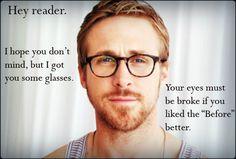 Ryan Gosling + Apart