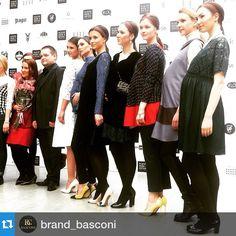 #Repost @brand_basconi with @repostapp.・・・После показа FashionTime Designers в рамках Недели Моды в Москве. BASCONI - генеральный fashion-партнер показа. #backstage #mfw #неделямоды #неделямодывмоскве #basconi