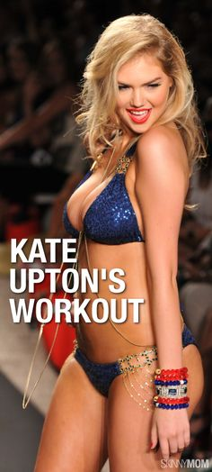 Always wandered how Kate Upton keeps her body looking that hot?  Learn her secrets and workout tips here!