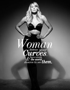 Woman, embrace your curves! - Style has No size