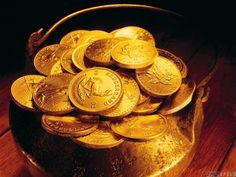 Pot of gold wallpaper Pot Of Gold Wallpaper, Need Money, How To Make Money, Islamic Page, Jafar, Set You Free, Precious Metals, Wealth, Harry Potter
