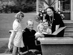 The Royal Family at Skaugum, August 1939.