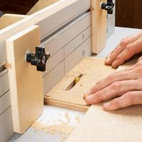 Woodworking Techniques For arrow-straight slots with crisp, clean ends and edges, let your router table, a few shop-made accessories, and a little know-how help you produce on-target results. Woodworking Jigsaw, Woodworking Projects That Sell, Router Woodworking, Learn Woodworking, Woodworking Techniques, Woodworking Furniture, Woodworking Skills, Woodworking Machinery, Popular Woodworking