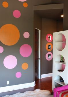 Chambre bb on pinterest nursery wall decals jungles and - Chambre enfant orange ...