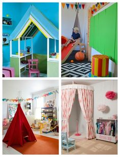 love the microphone and stage   playroom ideas • Artchoo.com