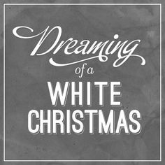 Dreaming of a white Christmas. My Favorite Holiday movie and my wish for every Christmas. Decoration Christmas, Noel Christmas, Merry Little Christmas, Christmas Is Coming, Christmas And New Year, All Things Christmas, Winter Christmas, Christmas Quotes, Christmas Colors