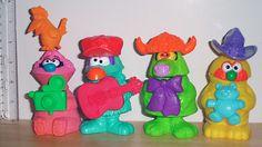 1995 McDonald's Happy Meal Toys Jim Henson's Muppet Workshop set of 4