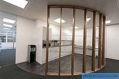 Cloisons en verre: types, épaisseur du verre, installation - Réparation et conception - 2020