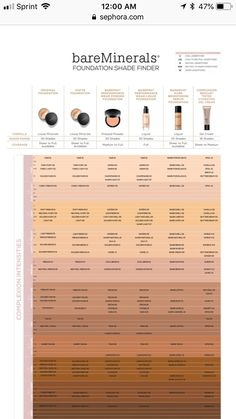 Bare Minerals Color Match