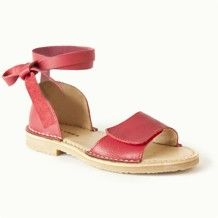 Nr.2 Mary Jane Wrap Sandal Red/Pink