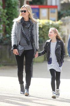 Especial shopping para el Día de la Madre con madres famosas: Kate Moss