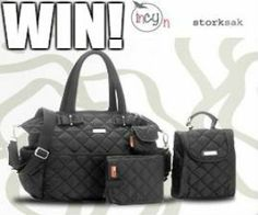 Win A Storksak Bobby Nappy Bag. Here's your chance to win a functional and fashion-saavy Storksak Bobby Nappy Bag! Baby Style, Bobby, Giveaway, Competition, March, Bags, Fashion, Handbags, Moda