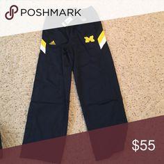 NWT University of Michigan pants Adidas. NWT. Team travel pants. Climalite Adidas Pants Sweatpants & Joggers