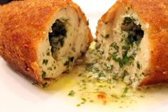 Try: Russian Garlic and Butter Chicken Kiev