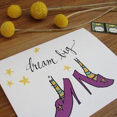 Dream Big Encouragement / Graduation Cards