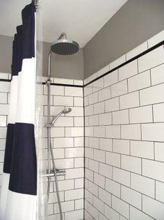 Facet Border Shower Curtain West Elm Bathroom Pinterest