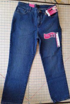 Lee Classic Fit Jeans Straight Leg NWT Stretch Denim Pants Womens Petite 10 SP #Lee #StraightLeg