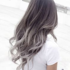 A photo posted by Hair by MIJU (@dearmiju) on Nov 13, 2016 at 1:56pm PST Gray hair has been trending on and off for some time now, with celebrities such as Lady Gaga, Ciara, Pink, and Zosia Mamet all trying out the silvery hue. Another hair color trend that won't be going away any time soon? The