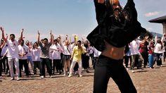 Freddie For A Day in Montreux in support of Mercury Phoenix Trust fighting AIDS worldwided with SEG Mercury, Switzerland, Phoenix, Trust, Dancer, Day, Dancers