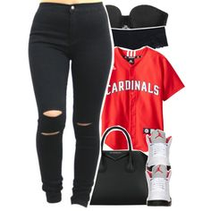 Hit 'er with the left, hit 'er with the right. Imma knock the p*ssy out like fight night by yah-mindless-girl on Polyvore featuring polyvore and art