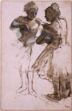 Edgar Degas | Two Dancers | The Met