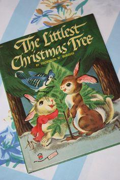 The Littlest Christmas Tree 1954 Wonder Book