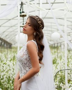 hair accessory bridal tiara bridal Hair by Ayajewellery on Etsy